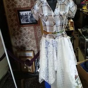 Upcyxled dress